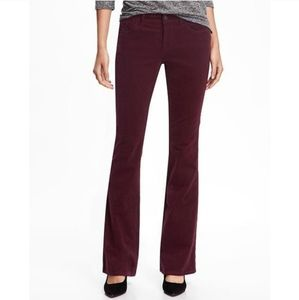 Old Navy Mid Rise Flare Corduroy Pants